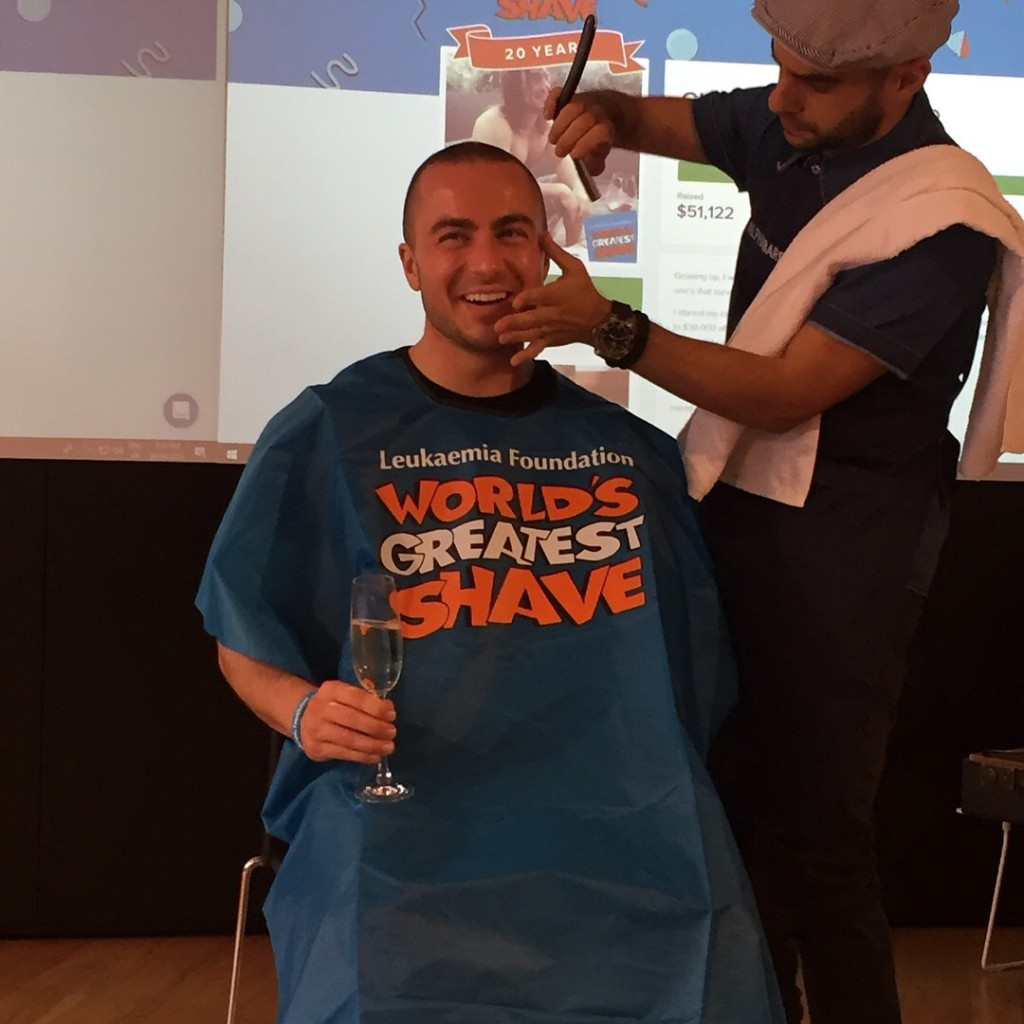 SHAVE FOR A CURE 2 of 2